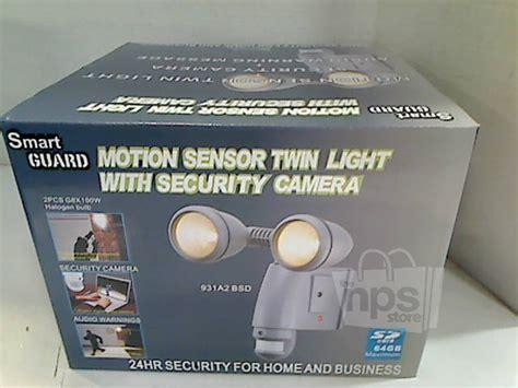 smartguard aec 931a2bsd motion sensor twin light with security camera smart guard 931a2bsd motion sensor twin light with