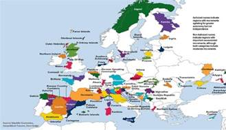mapping europe s secessionist movements zero hedge