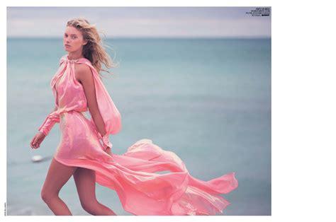 Kors Layla Vs Mossimo Perry by Elsa Hosk Italy Magazine February 2015