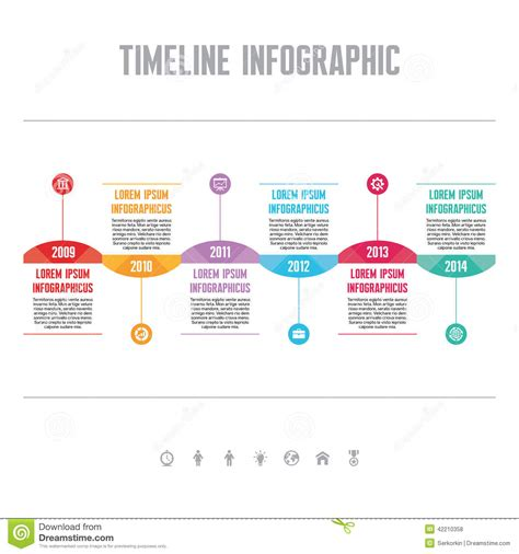 timeline infographic template google search design