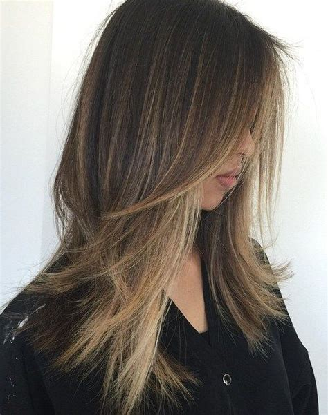hairstyles for long straight hair with highlights 80 cute layered hairstyles and cuts for long hair
