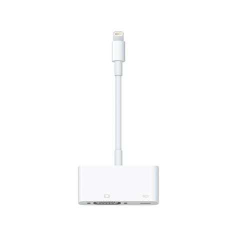Lightning To Vga Adapter Original 1 apple lightning to vga adapter md825 apple original accessories macrotronics computers l