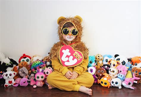 beanie boo and diy costume for littles beanie boo