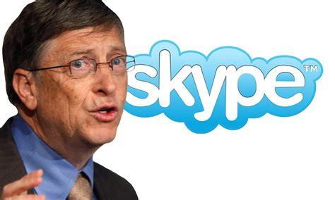 bill gates biography buy microsoft s bill gates buys skype for 163 5bn end of phone