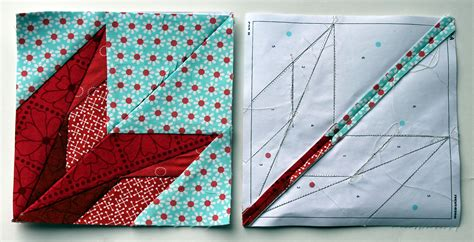 Quilting Paper by Paper Pieced Quilt Blocks Images
