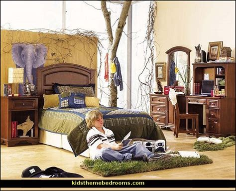 safari bedroom decorating theme bedrooms maries manor treehouse theme