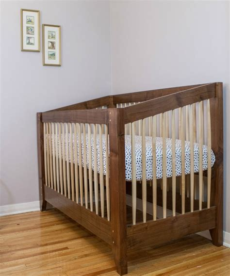 Diy Crib 5 Dreamy Designs Bob Vila Diy Baby Crib Plans