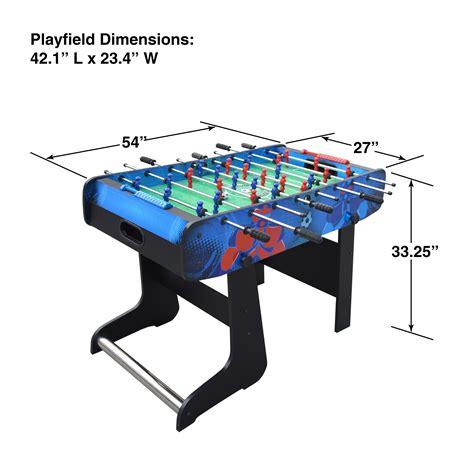 amazon com foosball table amazon com hathaway gladiator 48 quot folding foosball table