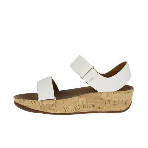 fitflop sandal fitflop sandals bon easy white