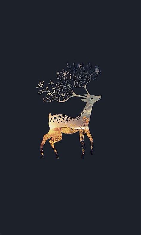 deer pattern iphone wallpaper 10 beautiful hd wallpapers for your phone dzzyn