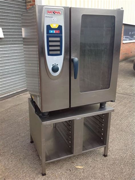 Oven Combi Rational secondhand catering equipment electric combi oven steam