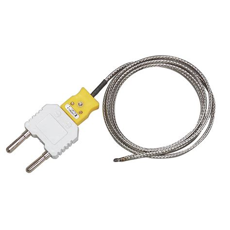 bead type thermocouple extech bead wire type k thermocouple temperature probe