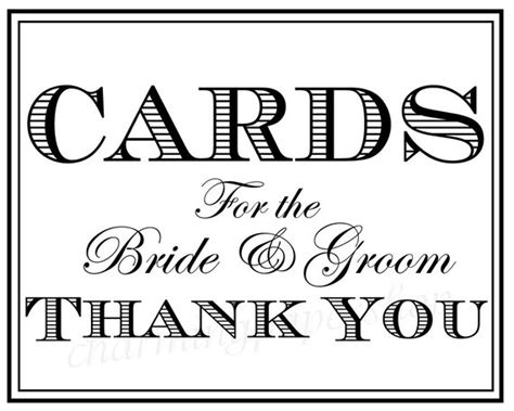 cards sign for wedding card box template wedding signs thank you signs wedding cards by