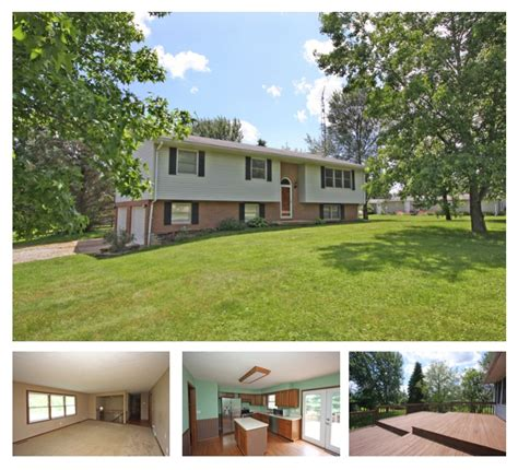 spacious bi level home for sale in mount vernon ohio