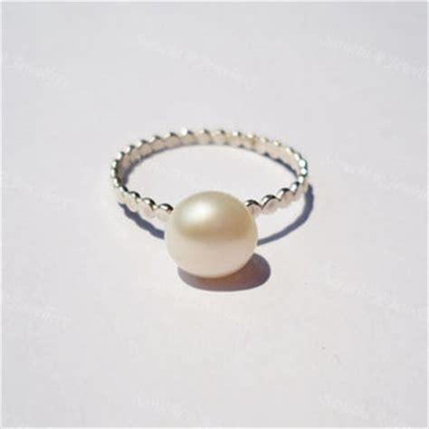 best simple pearl ring products on wanelo