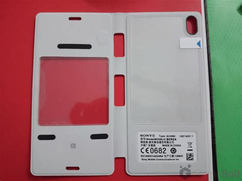 Style Cover Windows Scr24 Sony Xperia Z3 Black sony scr24 style cover window for xperia z3 look of