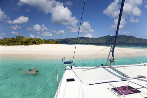 catamaran around bvi why charter in the british virgin islands