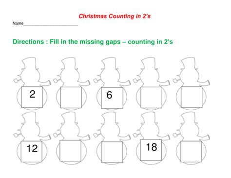 Counting By 2 S Worksheet by Counting In 2 S Worksheet By Dondon5 Teaching