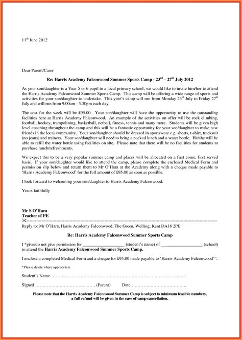 cover letter for school application application letter for admission sle cover letter for