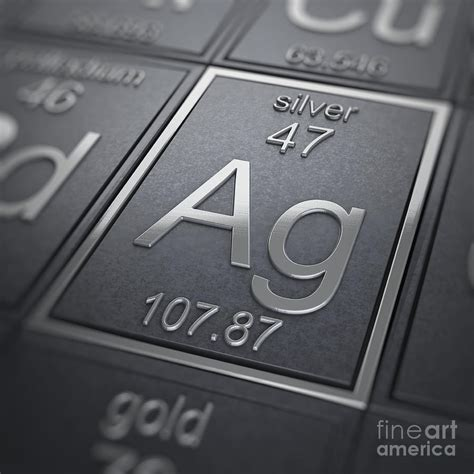 Silver Element silver chemical element photograph by science picture co