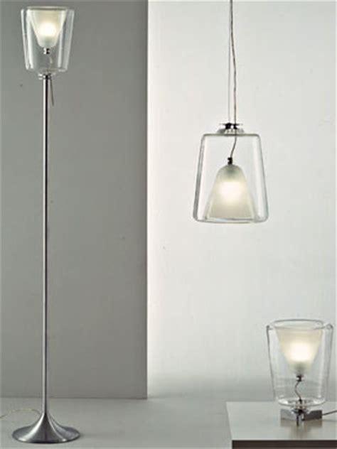 Oluce Laudani and Romanelli Lanterna Italian Glass Floor