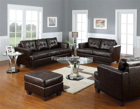 dark couch dark brown bonded leather sofa am15070 lowest price sofa