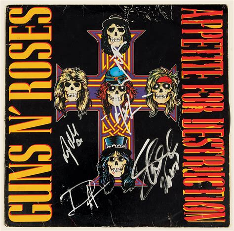 Appetite For Destruction Artwork by Icon Presents Guns N Roses Appetite For Destruction