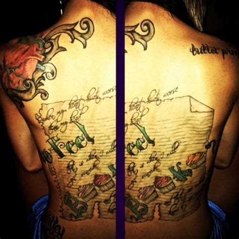 maci bookout tattoos maci bookout breaks the meanings many