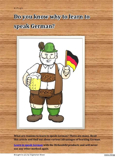 how do you a to speak do you why to learn to speak german