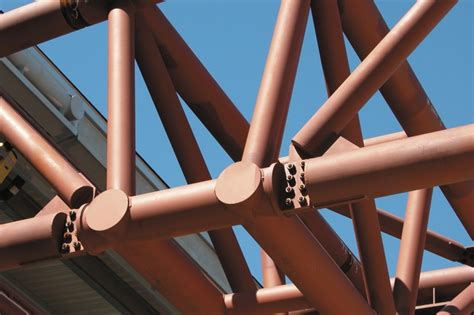 hollow structural section connections and trusses architecturally exposed structural steel architectureau