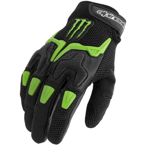 monster energy motocross gloves alpinestars m20 air summer vented monster energy cruiser