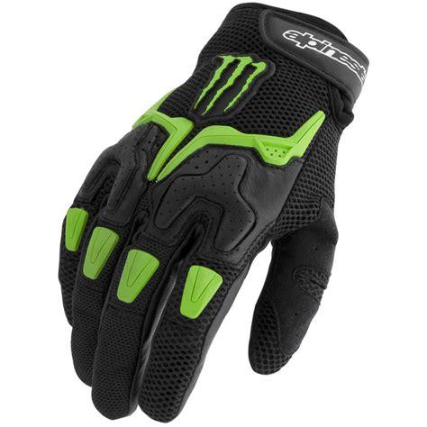 monster motocross gloves alpinestars m20 air summer vented monster energy cruiser