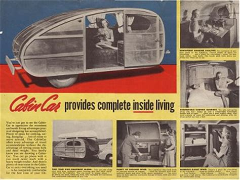 Cabin Car by Nick S Teardrop Trailer Page
