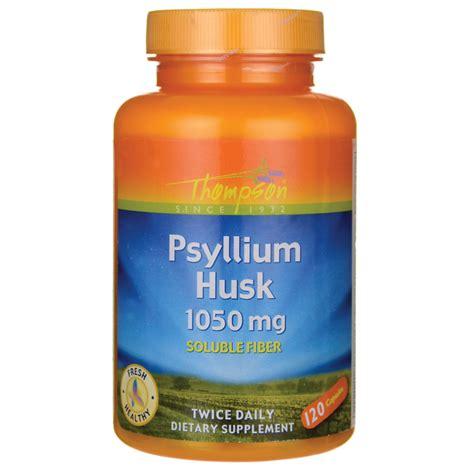 Psyllium Husk Stool by Thompson Psyllium Husk 1 050 Mg 120 Caps Swanson Health