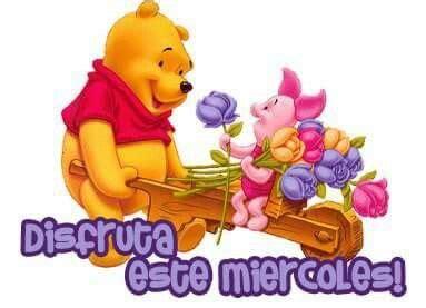 imagenes de winnie pooh buenos dias 20 best images about feliz mi 233 rcoles on pinterest