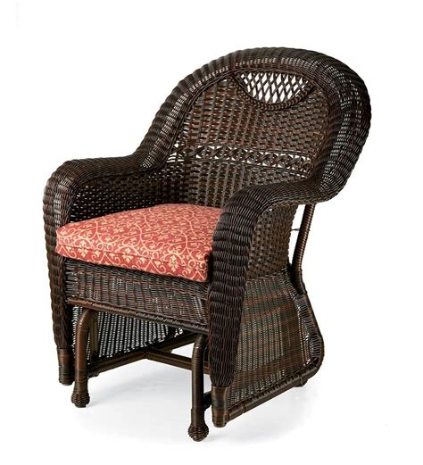 Prospect Hill Furniture Glider Set Patio Plow Hearth Plastic Wicker Patio Chairs