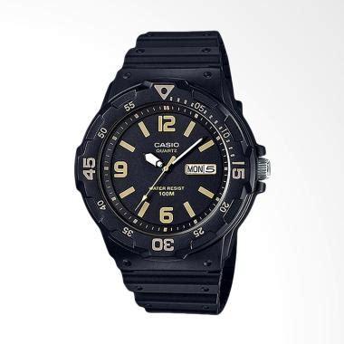jual casio jam tangan pria black mrw 200h 1b3vdf harga kualitas terjamin blibli