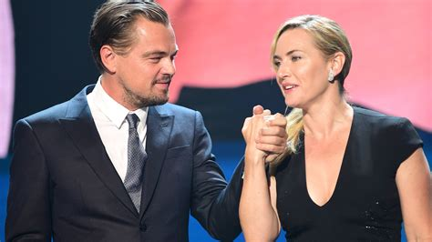 Leonardo Kate To Reunite On The Big Screen by See Leonardo Dicaprio And Kate Winslet Reunite With