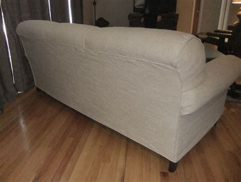 Custom Made Linen Slipcover With A Tailored Fit For A Custom Made Sofa Slipcovers