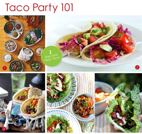 Catering: Taco Bars   Exquisite Weddings