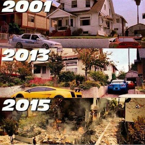 fast and furious house fast the furious house from 2001 now in 2015 fast the furious 1 pinterest