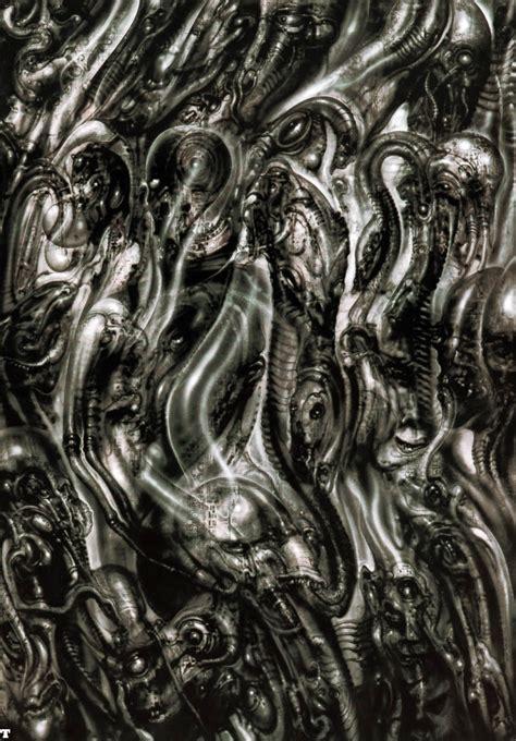 alien explorations hr giger s biomechanical landscape