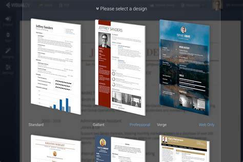 Resume Generator App visualcv resume builder android apps on play