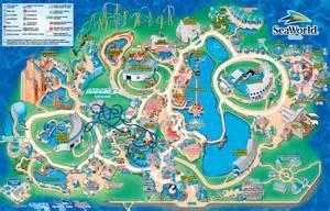 Seaworld Map Orlando by Ubb Message Themepark Nl
