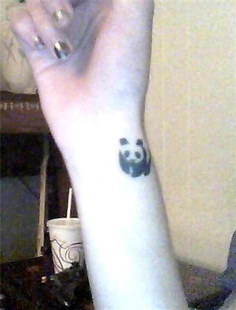 cute tattoos for your wrist 9 panda wrist tattoos
