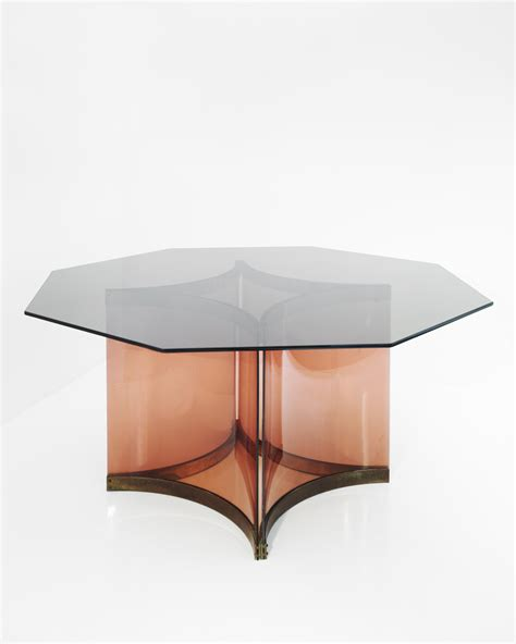 Hicks Glass Top Dining Table Dining Table By Alessandro Albrizzi Jansen Liz O Brien