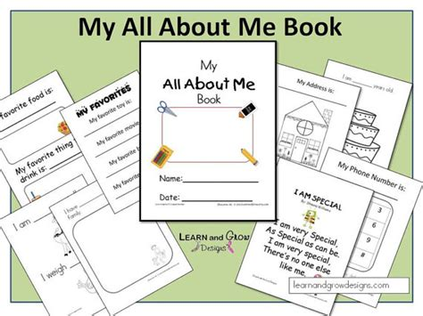 all about me picture books my all about me book
