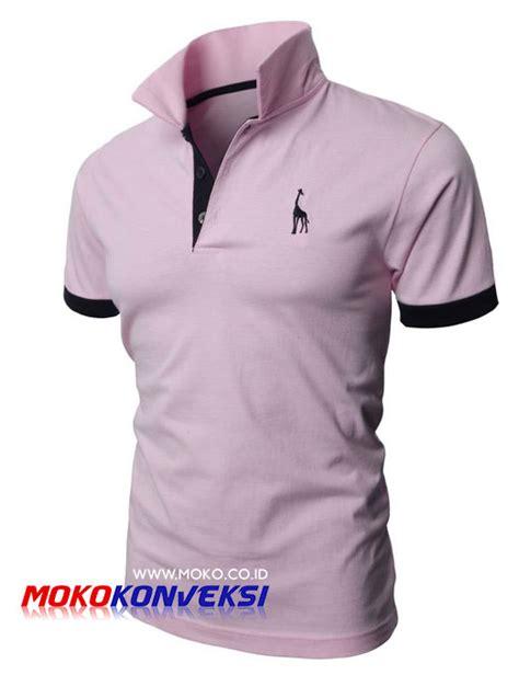 desain kaos warna pink jual kaos polo shirt bordir desain terbaru