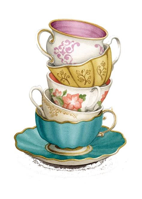 tea cup clip tea cup clipart teacup stack pencil and in color tea cup