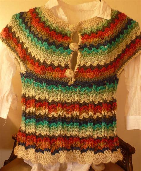 fotos de chalecos tejidos chaleco de lana tejido al crochet chalecos tejidos